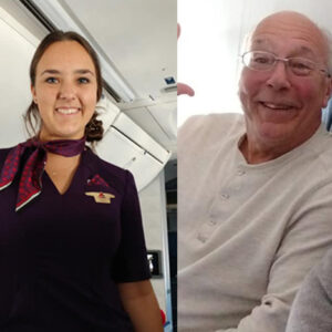 Best Dad Ever Books Six Flights So He Can Spend Christmas With His Flight Attendant Daughter