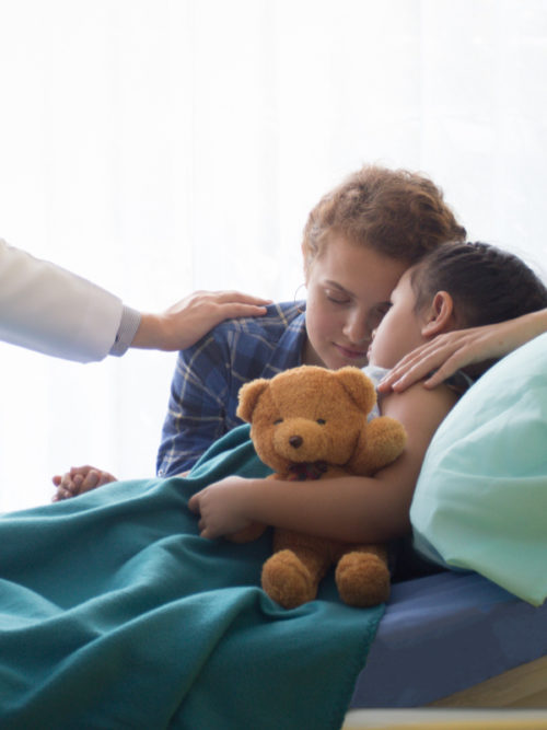 To the Mother of a Sick Child, You Are a Warrior