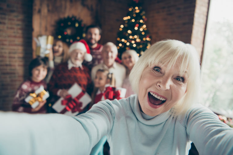 Dear Busy Family as You Scurry Around This Christmas: Don't Forget Grandma www.herviewfromhome.com