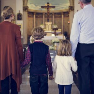 Dear Busy Mom, Church Isn't About Perfection—It's About Showing Up