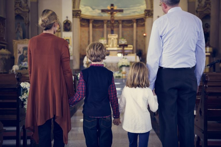 Dear Busy Mom, Church Isn't About Perfection—It's About Showing Up www.herviewfromhome.com