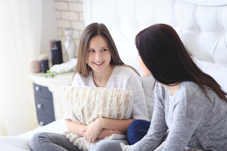 """Facing the """"Your Changing Body"""" Talk with Your Child www.herviewfromhome.com"""