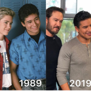 The Saved By the Bell Boys Did the Aging Challenge and We Want a Bayside High Reunion