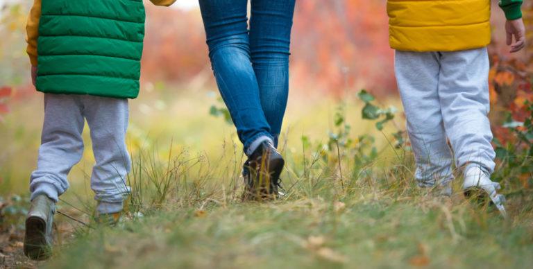 kids feet walking away www.herviewfromhome.com