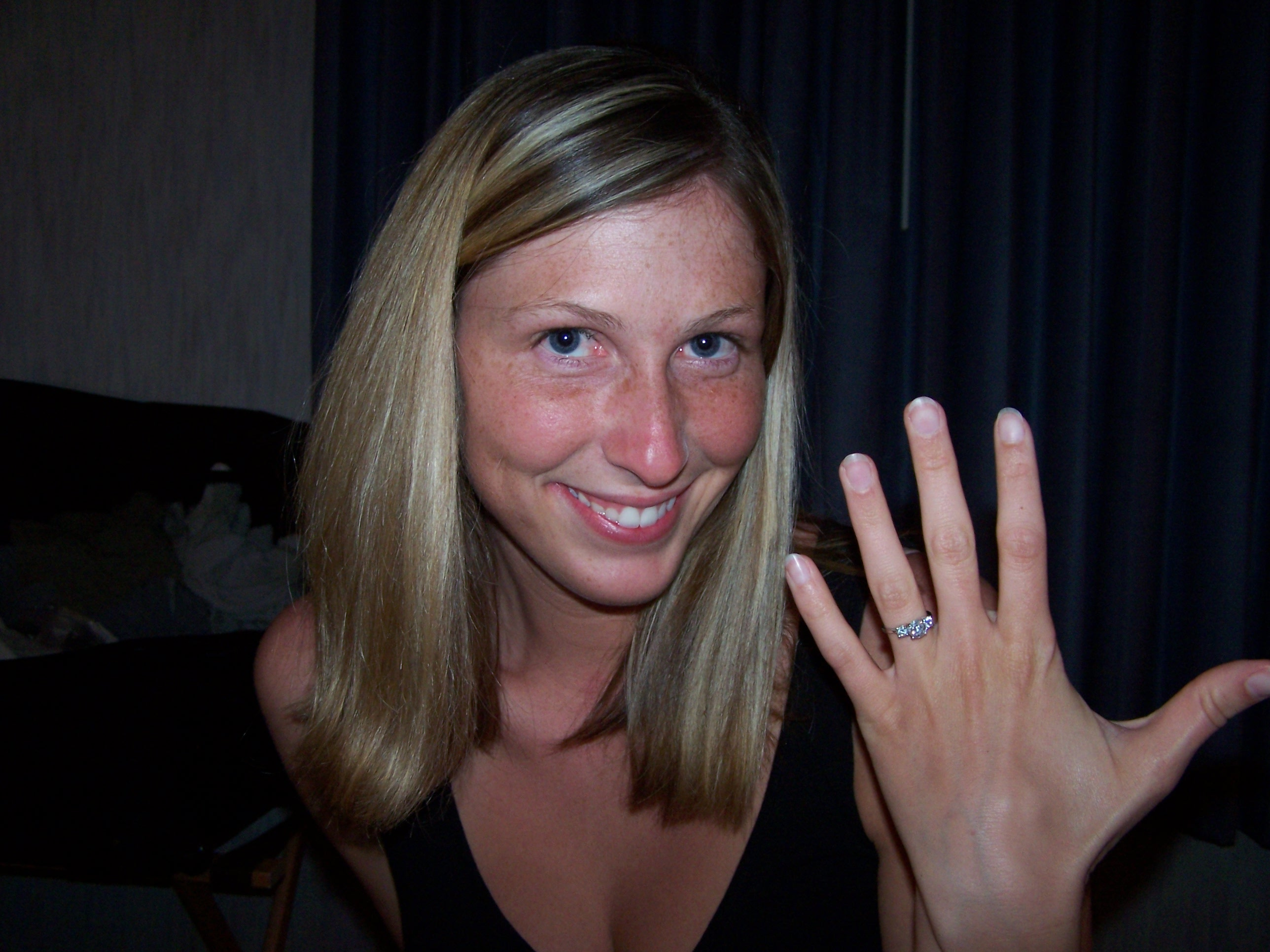 engaged woman www.herviewfromhome.com
