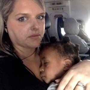 To the Disapproving Man on Flight 1451, Give My Kid a Chance