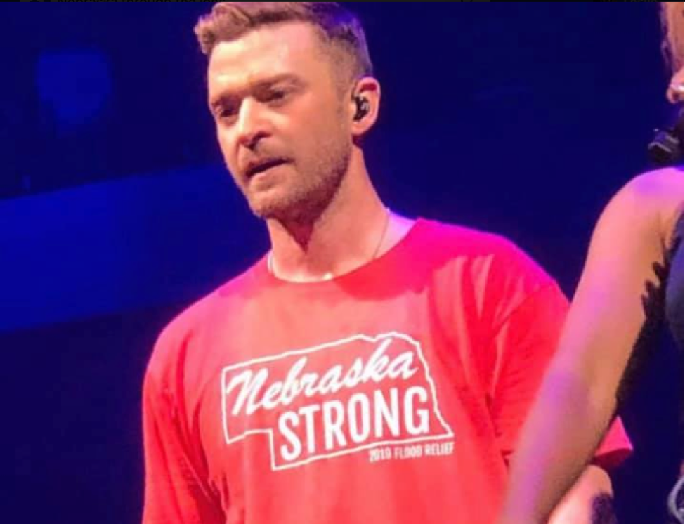 Justin Timberlake Promises Donation for Nebraska Flooding