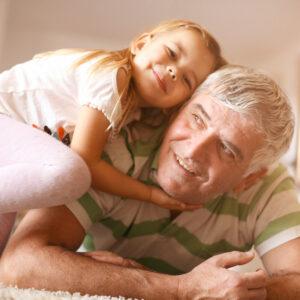 Grandpa's Tender Heart Was Born of a Little Girl's Ferocious Love For Him