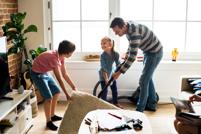 family cleaning www.herviewfromhome.com