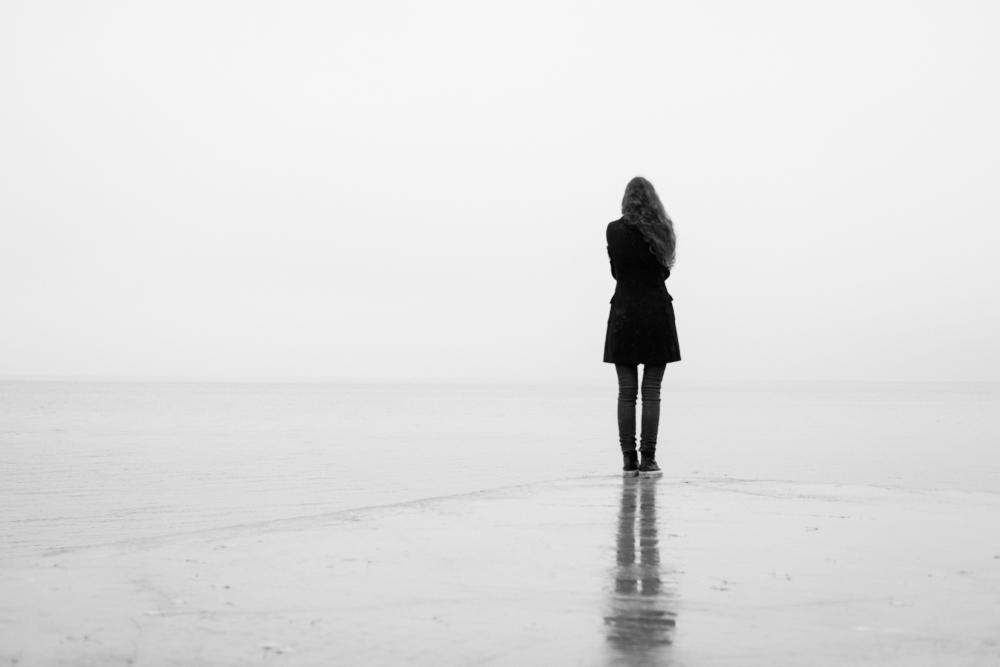 woman walking alone www.herviewfromhome.com