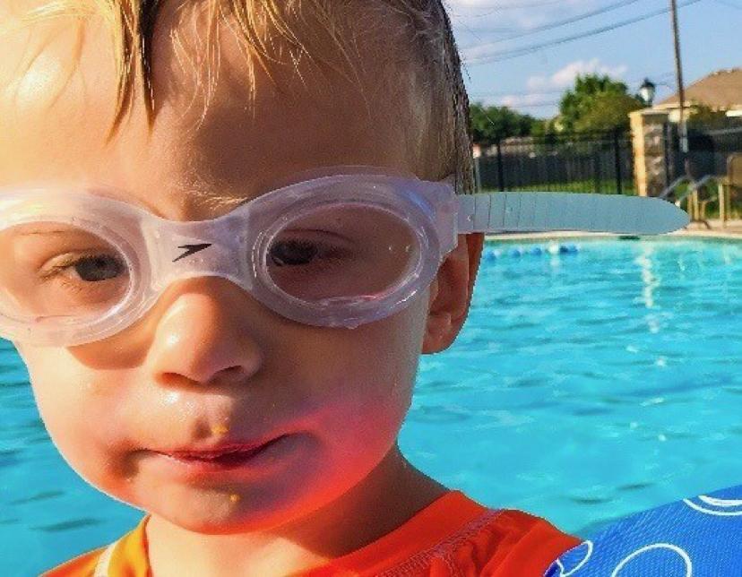Judah Brown drowned silently a swimming pool