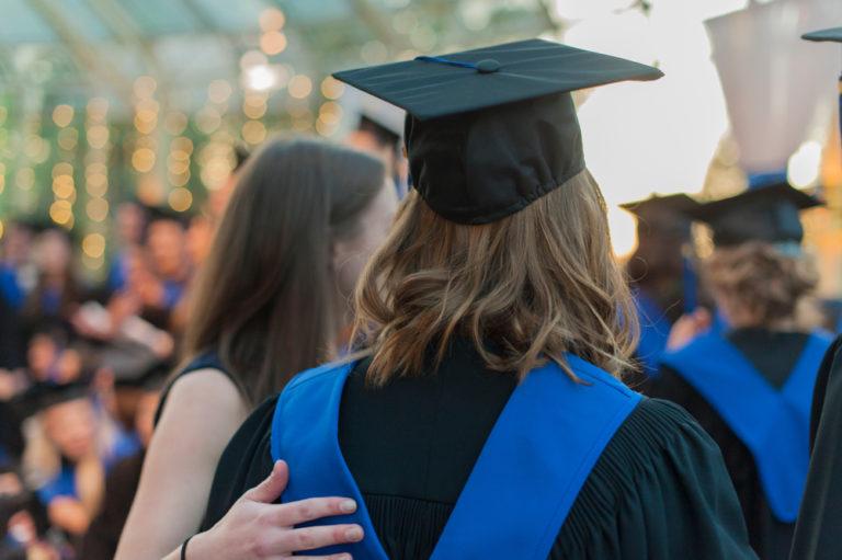 high school graduation, graduate, cap and gown, www.herviewfromhome.com