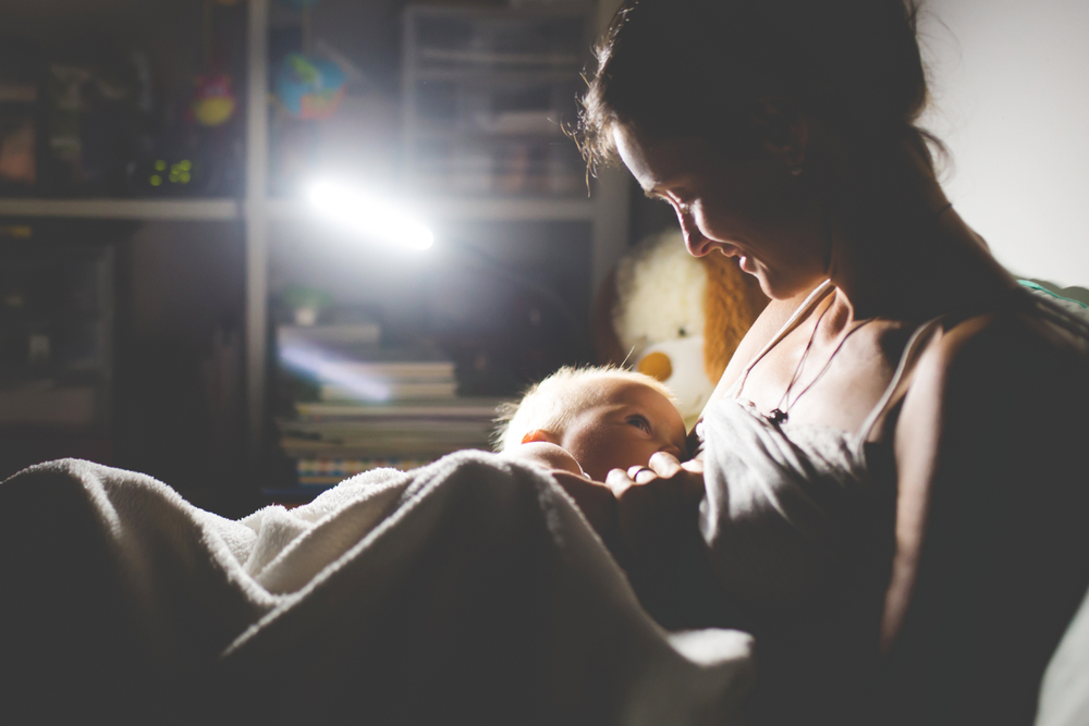 a mother's love, fussy baby, stay at home mom, baby, motherhood, www.herviewfromhome.com