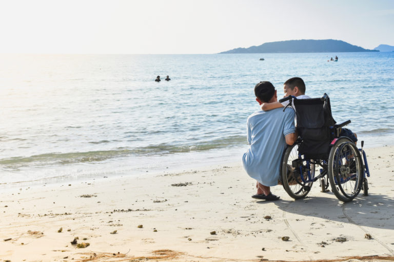 spina bifida, myelomeningocele, special needs, wheelchair, diagnosis, her view from home