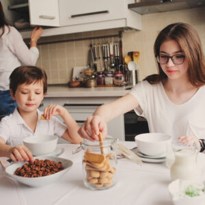 Your Kids Are Watching What—And How—You Eat