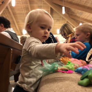 To the Distracted Mom at Church: it's Worth it