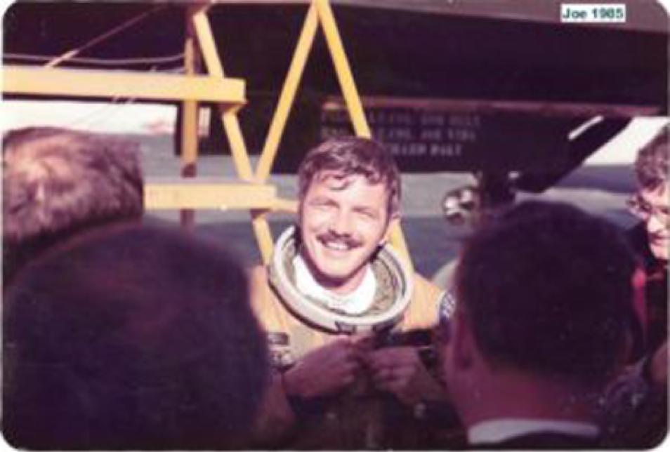 Astronaut father of Valli Gideons