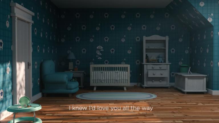 Michael Buble lyric video on YouTube