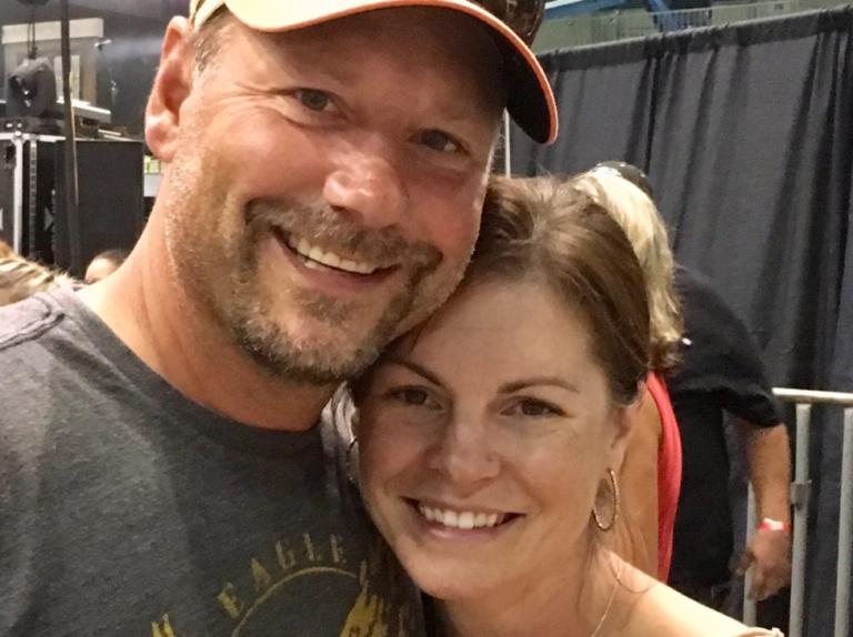 Husband and Wife Hug
