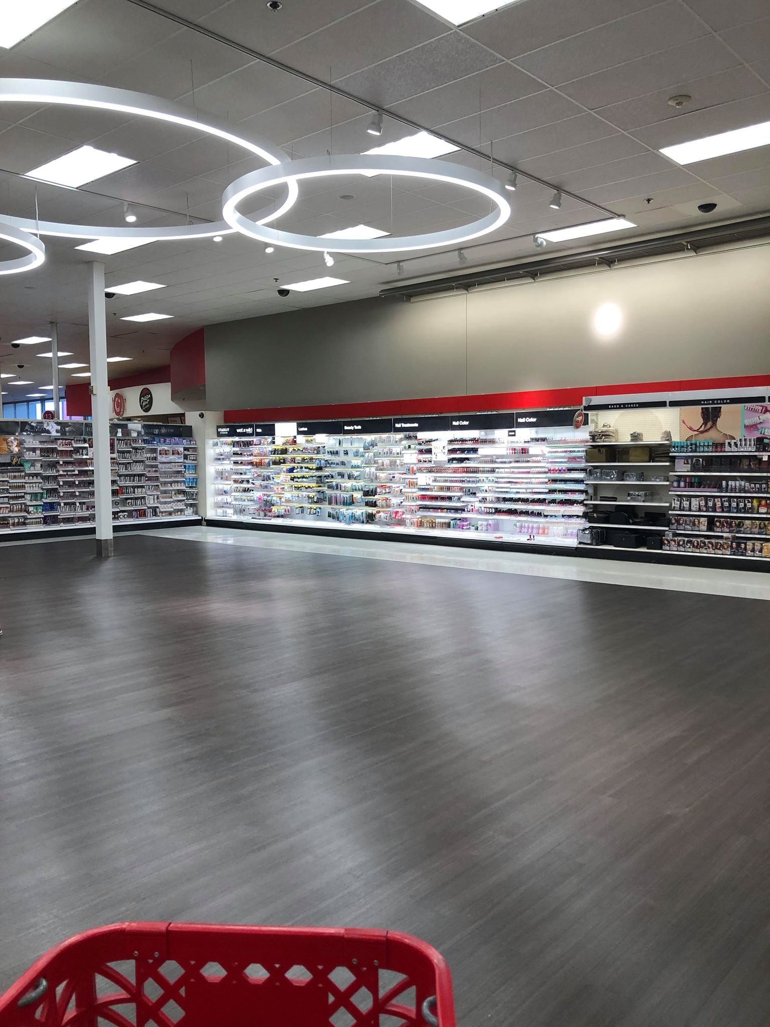 Target remodel inside store