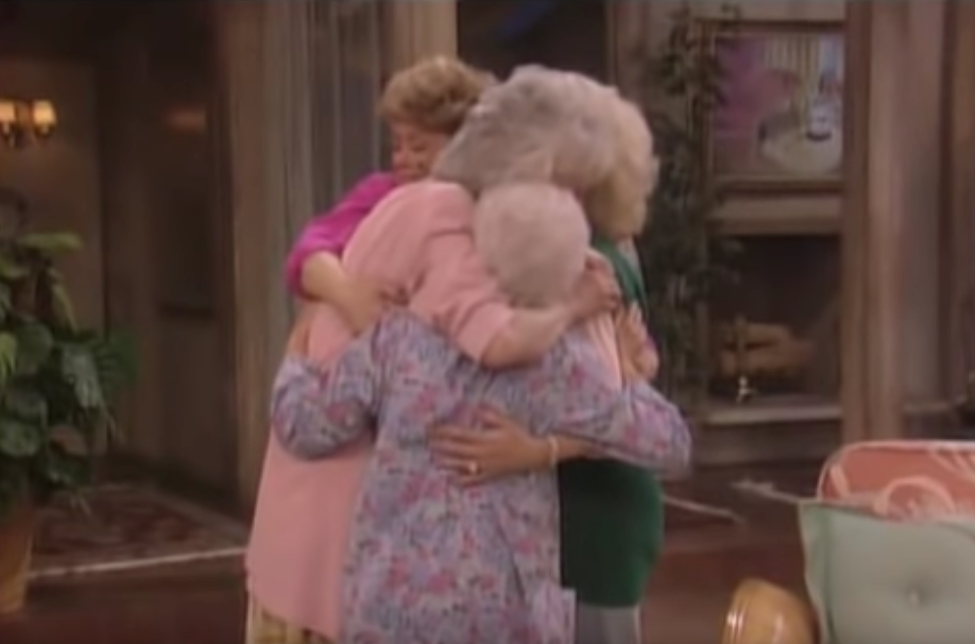 Golden Girls Hug