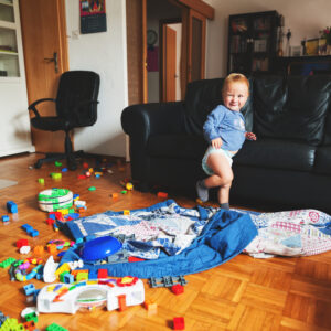 I'm the Mom With the Messy House