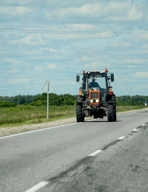 Give the Farmer Some Space and Grace on the Road