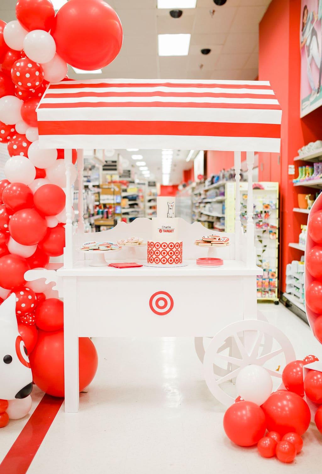Target Dessert Cart