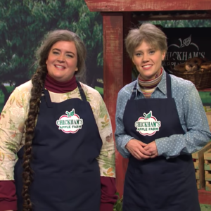 "SNL Post Hilariously Depicts the ""Joys"" of Apple Picking"