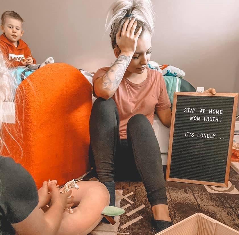 Lonely motherhood