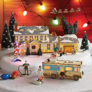 Move Over Dickens, There's a National Lampoon Village This Christmas