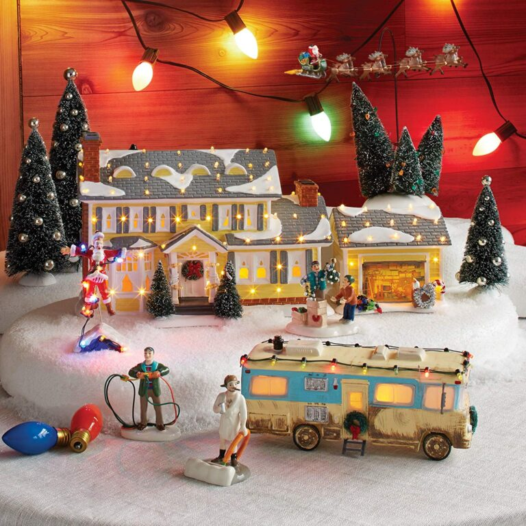 National Lampoon Christmas Vacation village