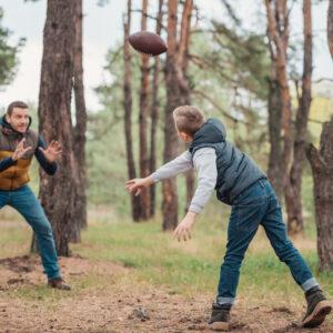 The Father-Son Football Bond Runs Deep