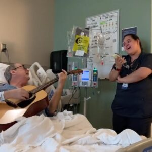 Hospital Room Duet of O Holy Night Proves Nurses Truly Are Angels