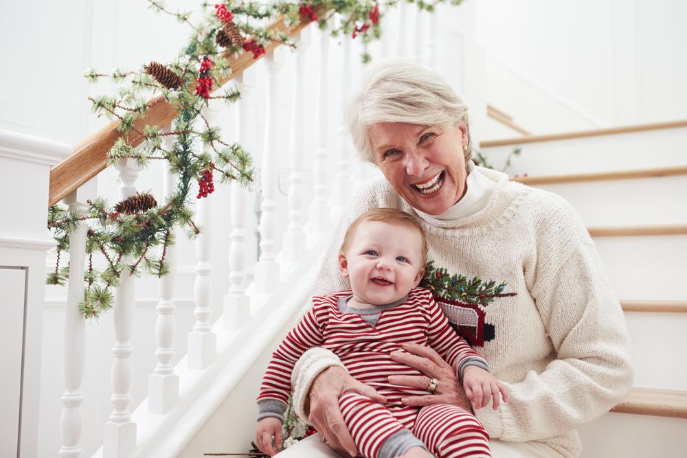 Grandma and child