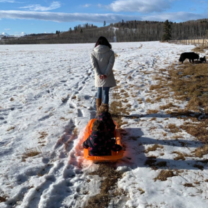 As a Mother, You Just Have to Keep Pulling the Sled