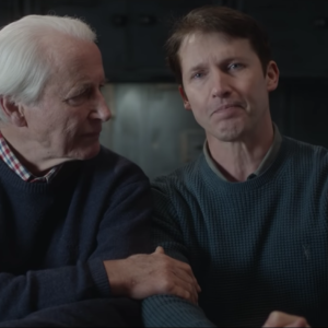 James Blunt Sings to His Dying Father in Emotional New Video—And We're All Sobbing