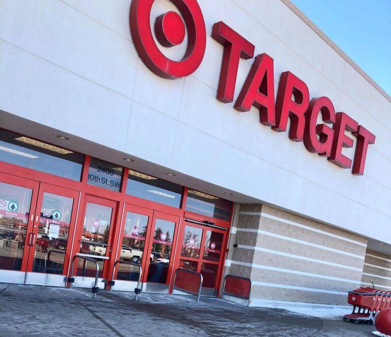 Target entrance