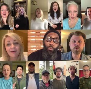 Nashville Studio Singers Record a Hymn From Isolation That Will Give You Chills
