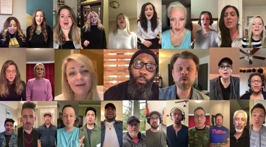 Nashville singers YouTube hymn