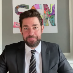 John Krasinski Brings Us Some Good News (And It's the BEST News)