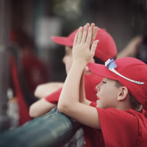 """I'm Raising Young Athletes Who Know There's No """"I"""" in Team"""