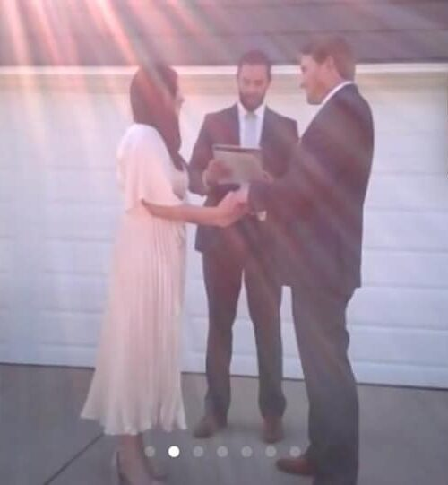 They Got Married In Their Driveway, And It's Still the Most Beautiful Thing