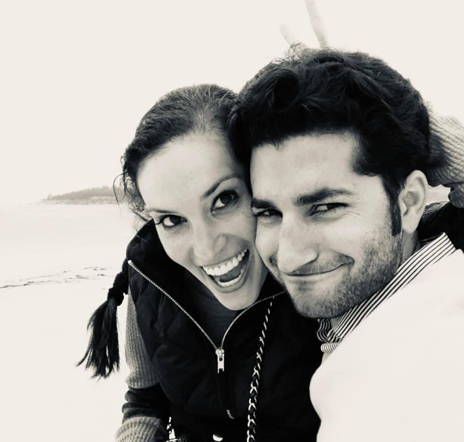 Selfie husband and wife