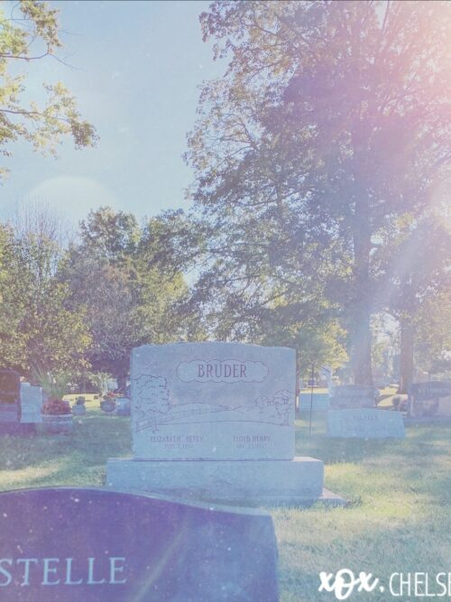 The Cemetery Fills Me With Comfort and Sorrow