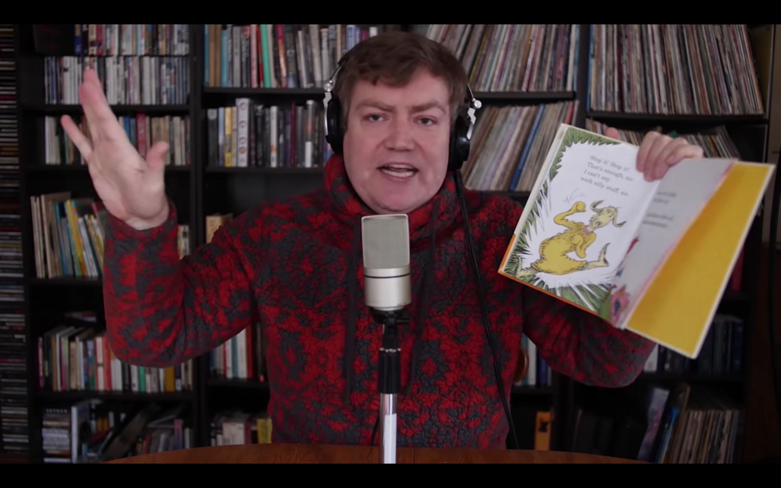 Wes Capp rapping Dr. Seuss