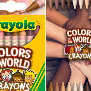 Crayola Lauches a Skin-Colored Box of Crayons and it's Perfect