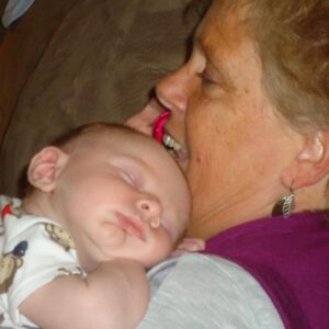To Hold a Sleeping Baby is Heavenly