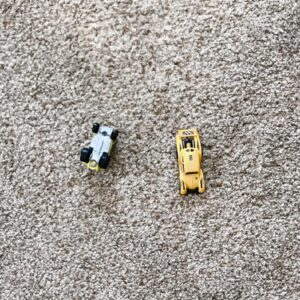 There Won't Always Be Hot Wheels on My Bedroom Floor