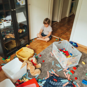 The House is Messy Because Kids Live Here
